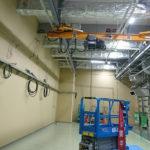 工場内天井クレーン設置