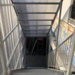 工場階段設置