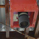 薪ストーブ用煙突工事